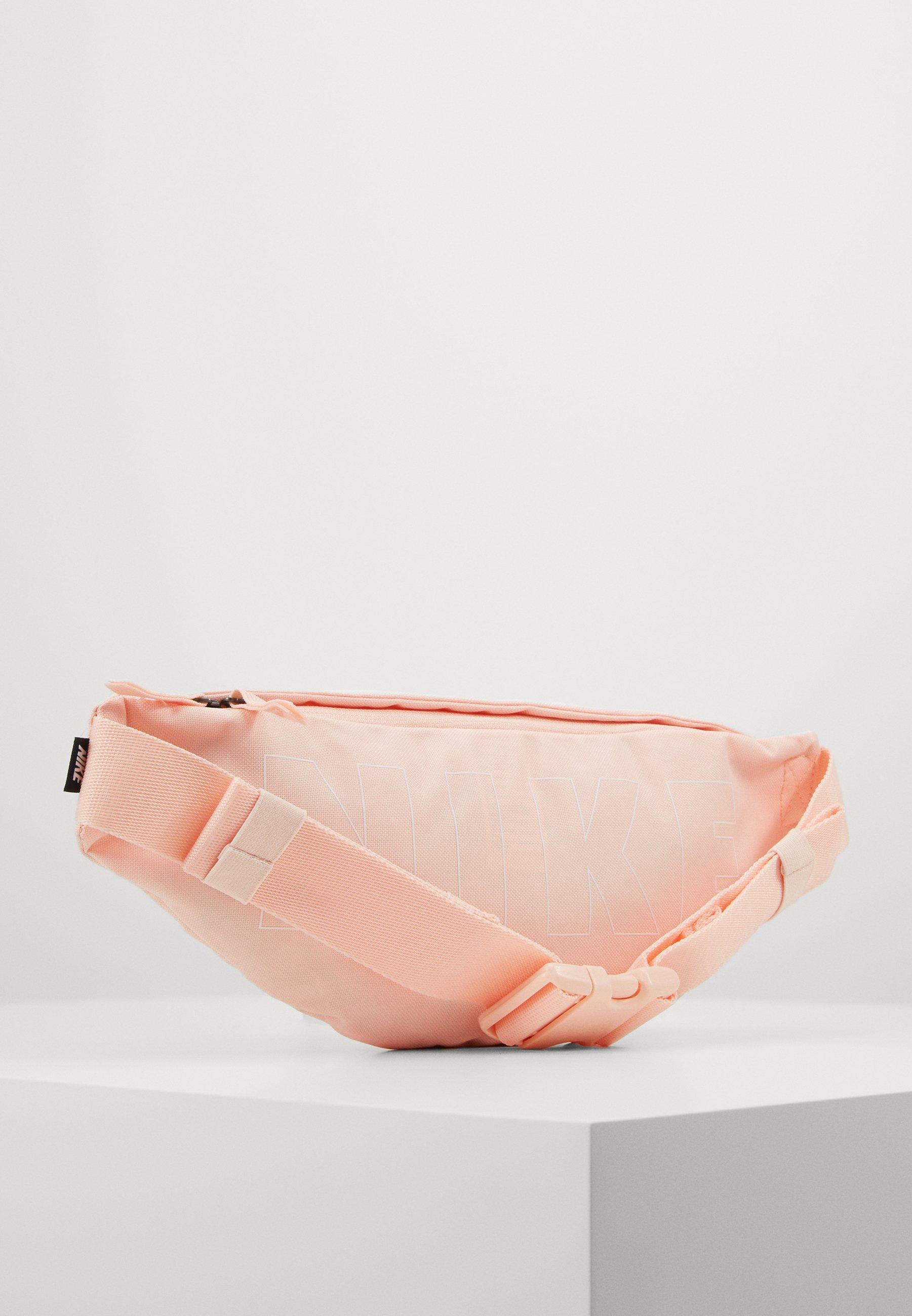 Nike Sportswear HERITAGE HIP PACK - Rumpetaske - washed coral/white/rød FVfSG5bK2DSOkUc