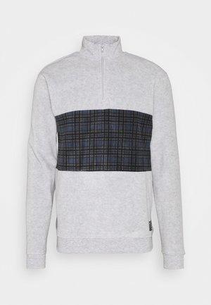 Fleecetröja - grey marl/multi colour