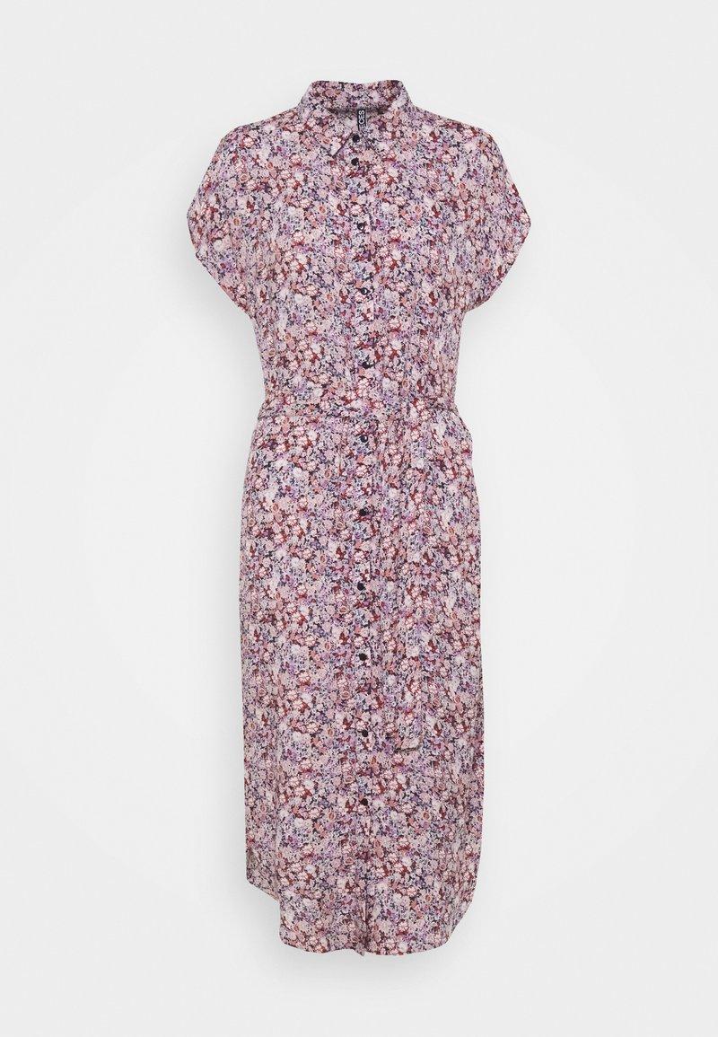 PIECES Tall - PCNYA SHIRT DRESS - Shirt dress - sky captain