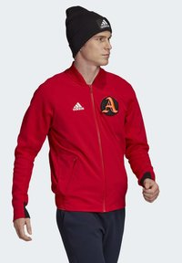 adidas Performance - VRCT JACKET - Training jacket - red - 4