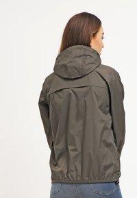 K-Way - CLAUDETTE - Summer jacket - khaki - 2
