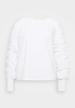 KOVA BLOUSE - Long sleeved top - snow white
