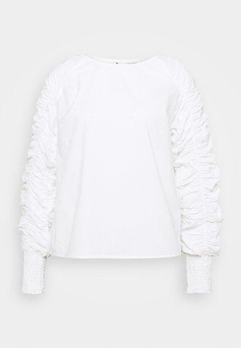 KOVA BLOUSE - Long sleeved top - snow white