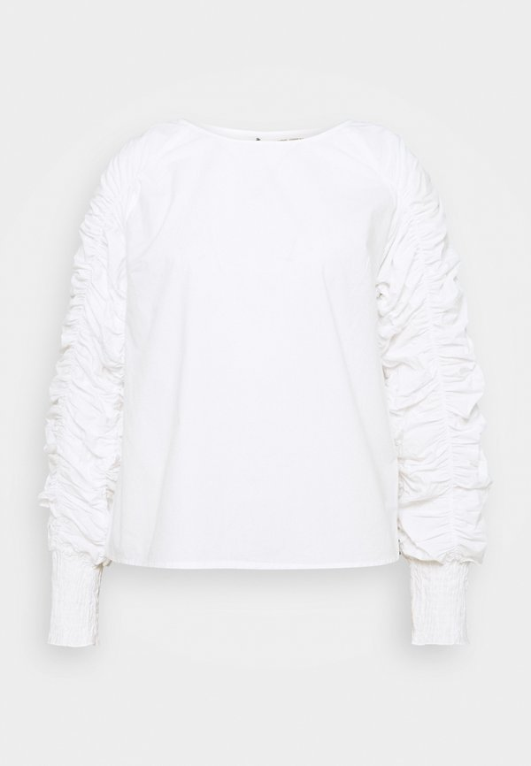 Love Copenhagen KOVA BLOUSE - Bluzka z długim rękawem - snow white/biały QIDX