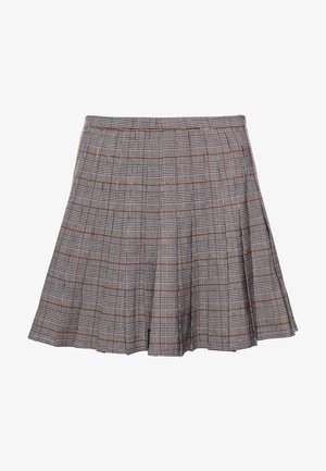 A-line skirt - soft pink check