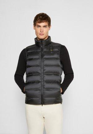 BASIC  UNI - Waistcoat - black