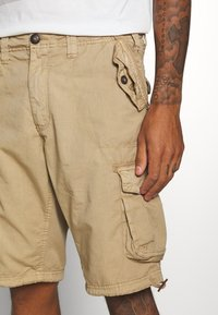Brave Soul - Cargo trousers - stone - 4