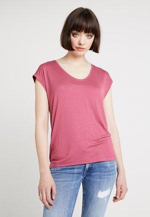 PCBILLO TEE SOLID - Basic T-shirt - malaga