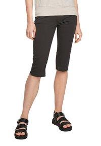 Q/S designed by - Denim shorts - black - 6