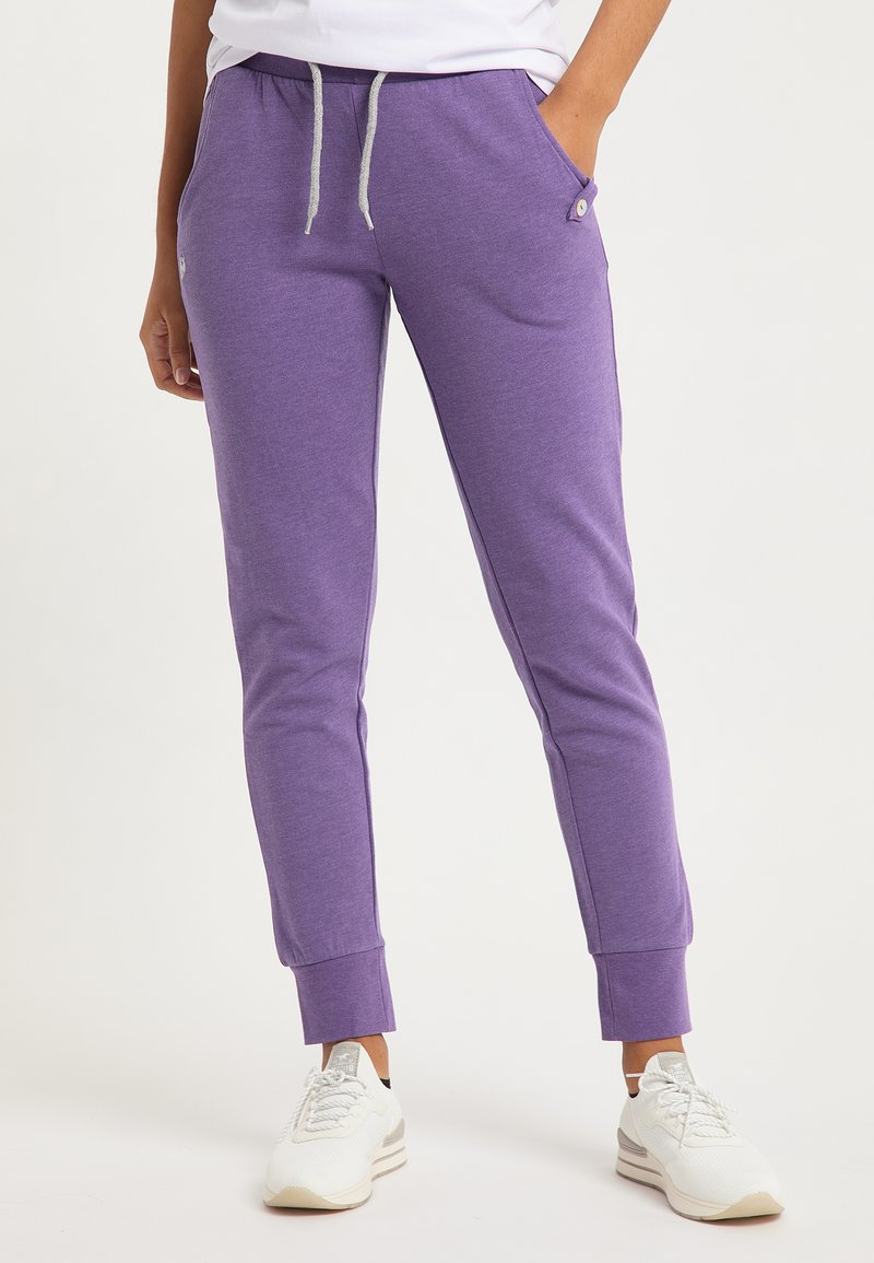 Bruno Banani - Tracksuit bottoms - lila