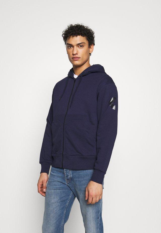 FLEEX - Zip-up hoodie - evening blue