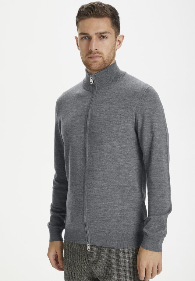 MAMASON - Neuletakki - medium grey melange