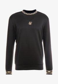 SIKSILK - CHAIN - Maglietta a manica lunga - black/gold - 3
