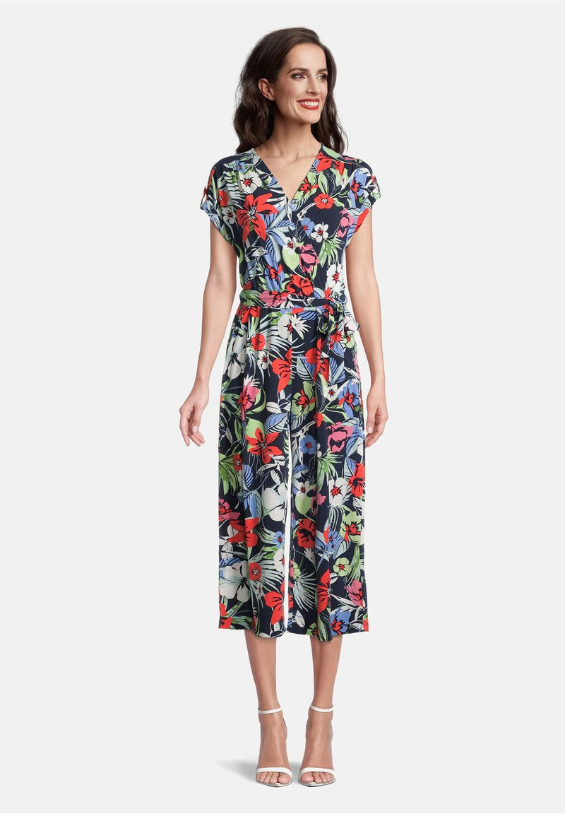 Betty Barclay - Jumpsuit - dark blue/red