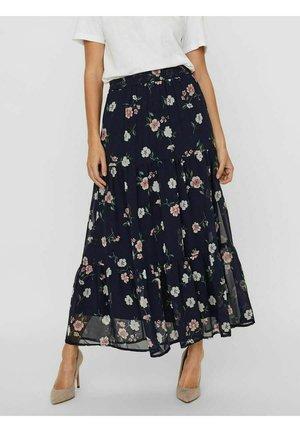 Maxi skirt - navy blazer