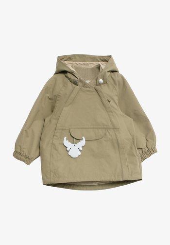 SVEO TECH - Waterproof jacket - dusty green