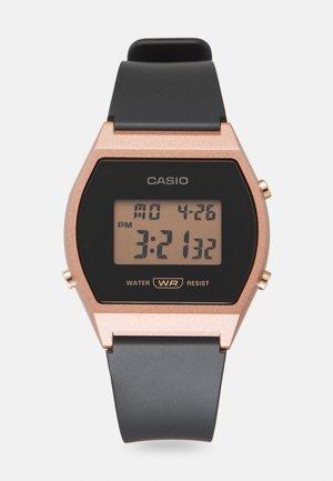 Digitální hodinky - rosegold-coloured/black