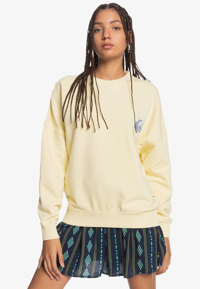 Quiksilver - Sweatshirt - pastel yellow