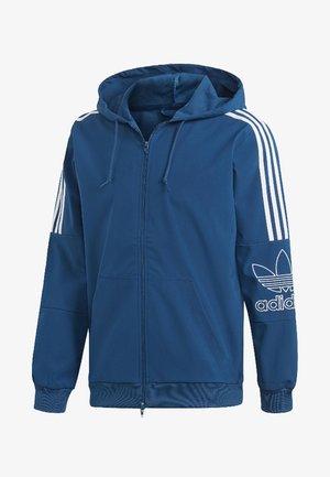 Outline Hoodie - Zip-up hoodie - blue