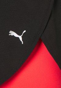 Puma - RUN SHORT - Sports shorts - black/sunblaze - 2