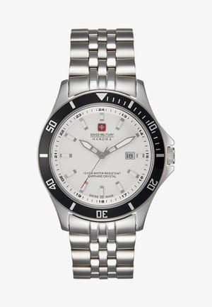 FLAGSHIP - Watch - silver-coloured/white