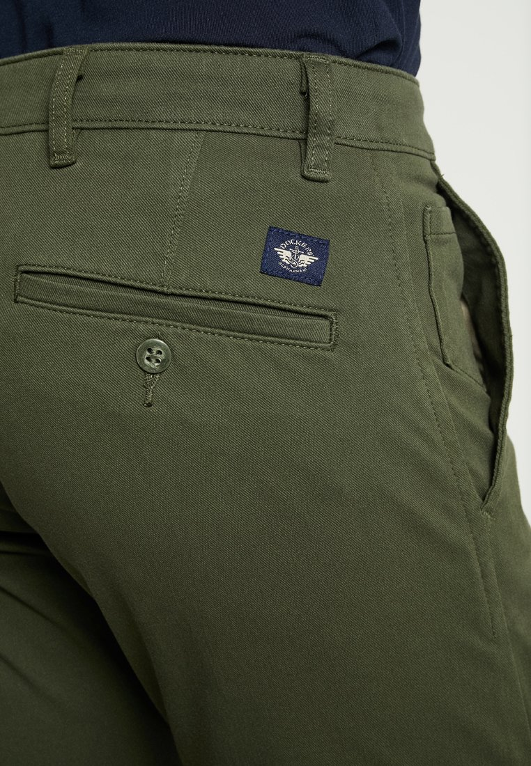 DOCKERS SMART SUPREME FLEX TAPERED - Pantalon classique - deep depths