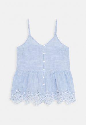 ONLLYDIA - Top - light blue/white