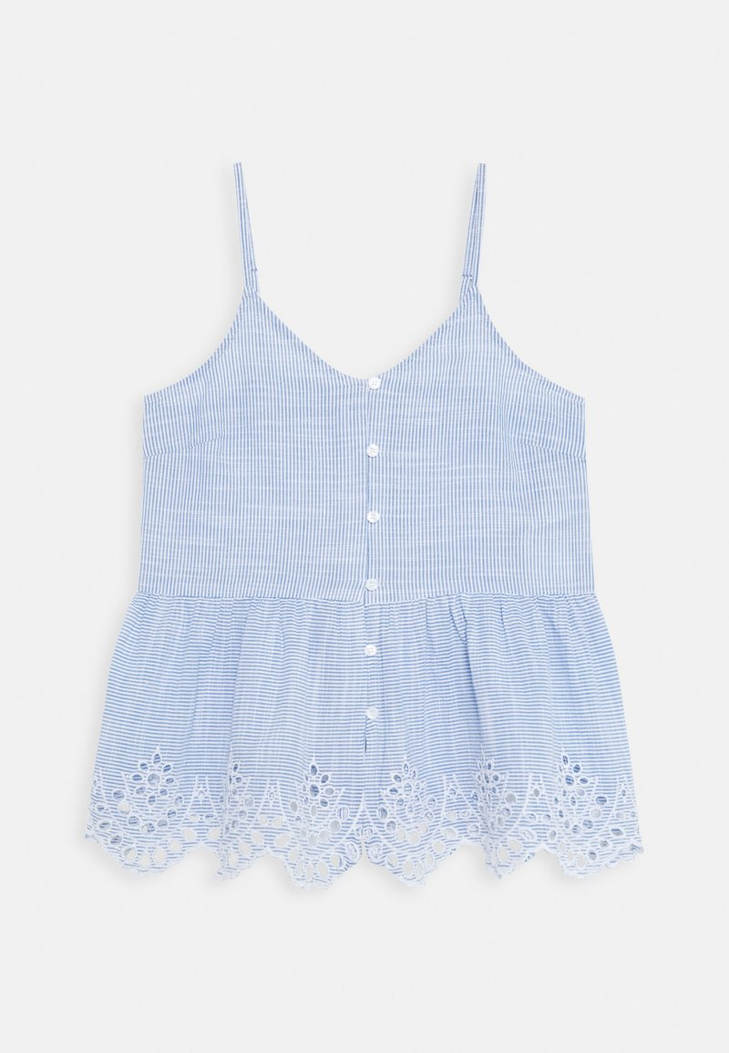ONLY Petite - ONLLYDIA - Top - light blue/white