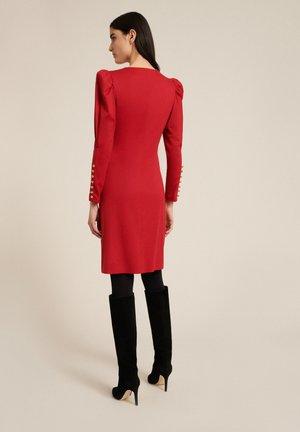 Robe en jersey - rosso