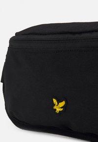 Lyle & Scott - LYLE CROSS BODY BAG UNISEX - Bum bag - black - 3