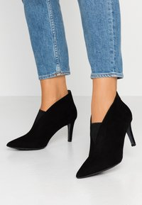PERLATO - Højhælede støvletter - noir - 0