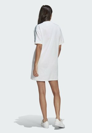 TEE DRESS - Vestito di maglina - white
