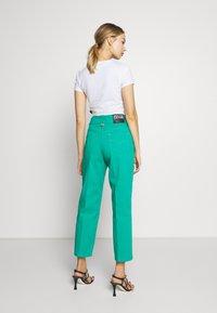 Versace Jeans Couture - LADY TROUSER - Džíny Straight Fit - pure mint - 2