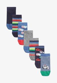 Next - 7 PACK RICH TRANSPORT  - Socks - multi-coloured - 0