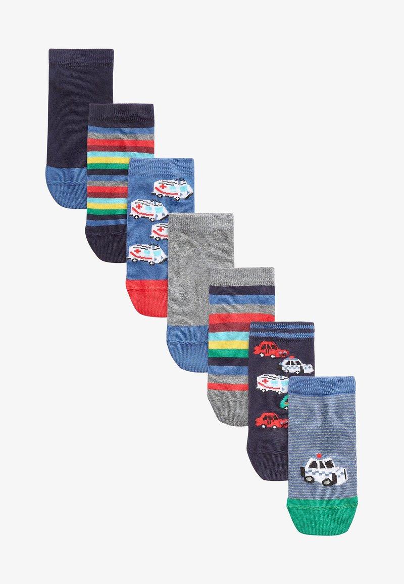 Next - 7 PACK RICH TRANSPORT  - Socks - multi-coloured