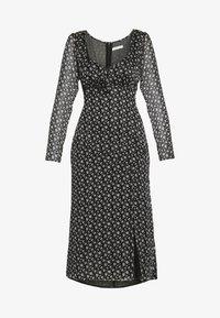 LAURIE MIDI DRESS - Day dress - flora noir