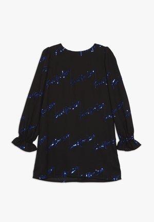NATUROPATA ABITO CREPE RICAMO - Cocktailkleid/festliches Kleid - black