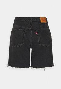 Levi's® - 501® MID THIGH SHORT - Short en jean - lunar black - 6
