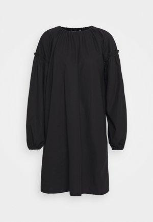 LÄNSI SOLID DRESS - Denní šaty - black