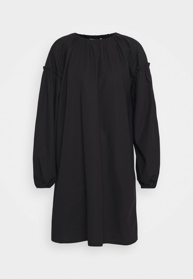 LÄNSI SOLID DRESS - Korte jurk - black
