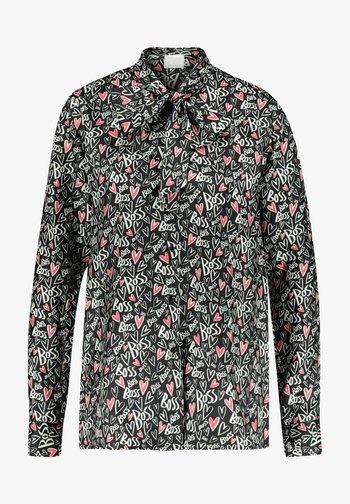 BANSUMA1 - Button-down blouse - schwarz