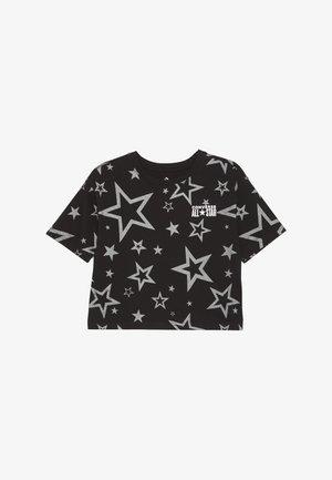 PRINTED ALL STAR BOXY TEE - Print T-shirt - black