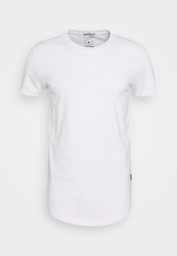 BADGE - Basic T-shirt - white