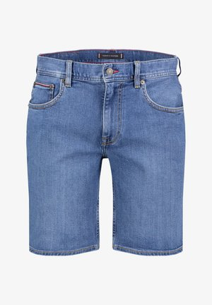 TOMMY HILFIGER HERREN JEANSSHORTS - Denim shorts - stoned blue (81)