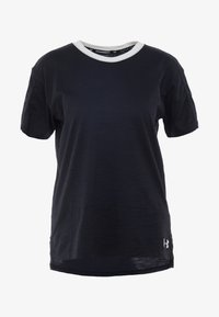 Under Armour - CHARGED  - Print T-shirt - black/white - 5
