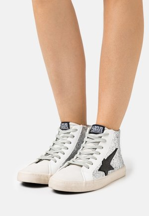 CITY - High-top trainers - high glitter