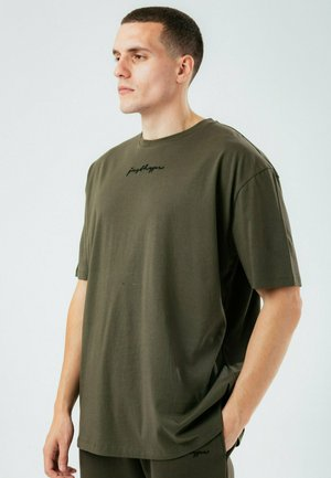SCRIBBLE - T-shirt basic - brown