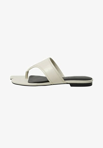 JAPAN - T-bar sandals - cremeweiß
