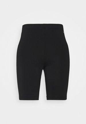 SKINNY TAPE - Shorts - black