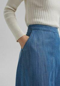 Esprit - Denim skirt - blue medium washed - 5